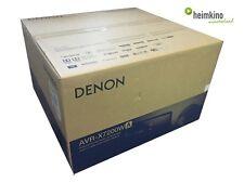 Denon AVR-X7200WA AV-Receiver, Auro 3D, Atmos, HDCP 2.2 (Silber) NEU Fachhandel