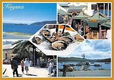 South Africa Knysna Views of the lagoon The shopping area House boats