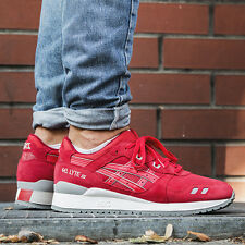 Asics Gel Lyte III Men's Running Shoes Size 12 Puddle Pack Red Sneakers H5U3L