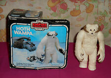 vintage Star Wars ESB HOTH WAMPA WITH BOX Kenner
