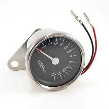 Tachometer Chrome 0-12,000 RPM 1=1:7 Ratio Tach Cafe Racer Custom Honda CB CL CM