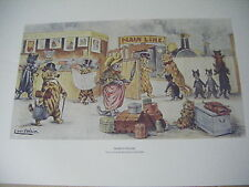 LOUIS WAIN--''Tickets Please''-OPEN EDITION LARGE PRINT