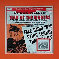 WAR OF THE WORLDS Orson Welles SY 5251 LP Vinyl VG++ Cover VG++