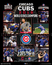 Chicago Cubs 2016 World Series Championship Picture Plaque