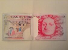 Banknote wallet / money purse. 50 pound banknote design