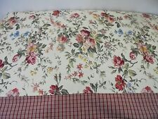 New Tablecloth Floral Plaid Skirting Rectangular 78 x 86 in. Shabby Chic Cottage