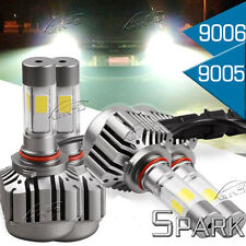 4X 9006 low 9005 high Beam Total 240W 24000LM LED Headlight Package Kit 6K White