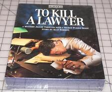 NEW SEALED To Kill A Lawyer Mystery Story 500 pc Secret Image Jigsaw Puzzle 1993