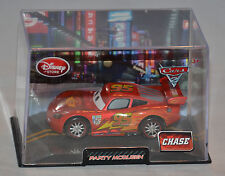 NEW! Disney Store PIXAR Cars 2 Lightning Party McQueen Diecast Car W/Case CHASE