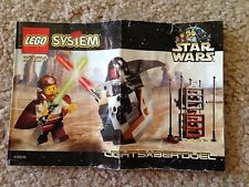 LEGO Star Wars 7101 Lightsaber Duel Instructions Manual