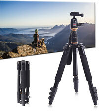 BEIKE ADJUSTABLE TRIPOD ALUMINUM ALLOY FOR SLR CAMERA BALL HEAD TRAVEL US SALE