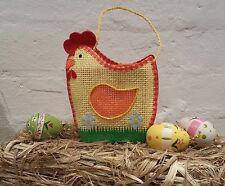 Lovely Yellow Hen Chicken Easter Gift Egg Bag Basket Binka Gisela Graham Chick