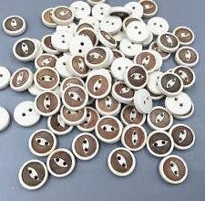 i tasti di legno occhio tondo misura il cucito decorazione artigianale 13mm