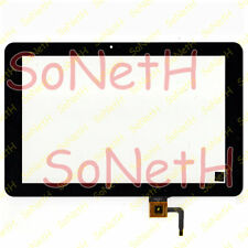 "Touch screen GoClever Aries 101 10,1"" Vetro Digitizer Nero"