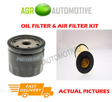 PETROL SERVICE KIT OIL AIR FILTER FOR FORD FOCUS 1.4 80 BHP 2005-12