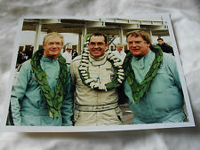 8 x 6 MOTORSPORT PRESS PHOTO - GOODWOOD REVIVAL 1999 - WIN PERCY PETER HARDMAN