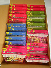 Fun Bands - Silly Shapes - Rubber Bandz Bracelets -1,080 Pieces 90 packs-3 boxes
