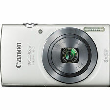NEW Canon PowerShot ELPH160 20MP 8x Optical Zoom Digital Camera - Red