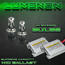 Lumenon HID Xenon Kit H4 9003 Hi/Lo Bi-Xenon 8k Crystal Blue Headlight 35w Beam