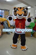 Tigress Tiger Mascot Costume Kung Fu Tiger Cartoon Fancy Dress Adult Free Ship