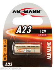 3 x Ansmann Batterie A23 GA 4223 V23 GA Alkali 55 mAh 12V V23GA A 23 MN 21A NEU
