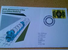 GB Official Souvenir cover 1977 50th Anniversary of the Post Office Railway SHC