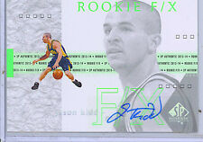 Jason Kidd 2013-14 Upper Deck SP Authentic Rookie FX Auto/Autograph Card