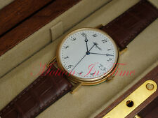 Breguet Classique Automatic 18k Yellow Gold 38mm White Arabic Dial 5177BA/29/9V6
