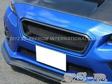 CS Style Front Carbon Fiber Grille Replacement fit WRX STI Subaru 2015+