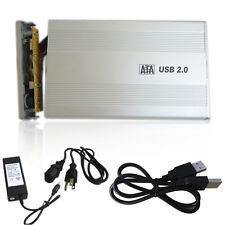 Hot 3.5 inch USB 2.0 External SATA HDD Hard Disk Cartridge Enclosure Drive Case