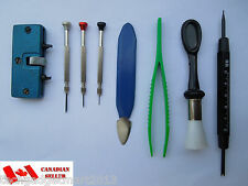 8pc Watch & Jewelry Tool Kit Watchmaker Repair Tools ST683