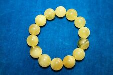 Real Baltic Amber Stretch Bracelet 20.5 grams