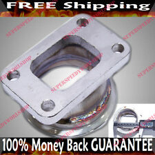 "Steel Adaptor for T3 4Bolt to 3"" V-Band Flange Fits Toyota Acura Honda BMW"