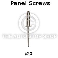 Panel Screw Nail 2,9  Renault Megane Range inc Coach/Classic I etc 20pk 10623re