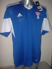 Faroe Islands Adidas Adult XL BNWT New Shirt Jersey Football Soccer Trikot SS