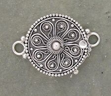 Bali Sterling Silver Ornate Clasp 19mm