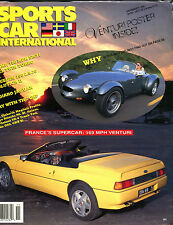 Sports Car International Magazine November 1990 France Venturi EX 021516jhe