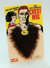 Large Brown Chest Wig Self Adhesive Werewolf Strong Man Halloween Fancy Dress