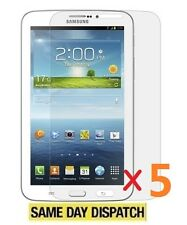 5 X Samsung Galaxy Tab 3 P3200 7.0 Inch LCD Screen Protectors Film Cover & Cloth