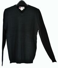 NWT iliac golf Bert LaMar Black Sweater Long Sleeves Size XL