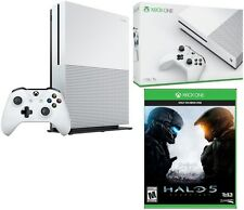 Microsoft Certified Xbox One S 1TB Slim 4K Ultra HD HDR Game Console w/ HALO 5