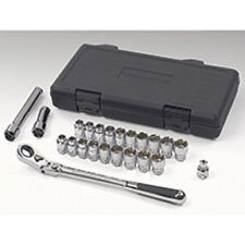 Gearwrench SAE/Metric Pass-Thru Socket Ratchet Set w/ Locking Flex Head #893823