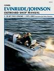 JOHNSON EVINRUDE WORKSHOP MANUAL 2hp TO 70hp ENGINES 1995 to 1998 B735 CLYMER