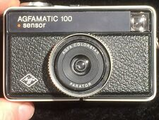 VIntage 1970's Camera - 'AGFAMATIC 100 sensor' with case