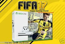 NEW XBOX ONE S 1TB CONSOLE LATEST MODEL+FIFA 17 GAME+1MONTH EA ACCESS 4K(SEALED)