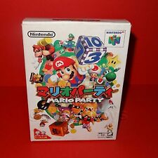 VINTAGE 1998 NINTENDO 64 N64 SUPER MARIO PARTY CARTRIDGE VIDEO GAME JAPAN BOXED