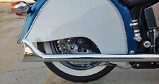 FISHTAIL CHROME EXHAUST PIPE EXTENSION INDIAN CHIEF CLASSIC DELUXE 1999-2002