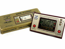 Nintendo Game & Watch Wide Screen Chef FP-24 Boxed MIJ Great Condition F/S_29
