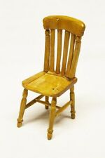 Wooden Dolls House Furniture Kitchen Chair Collectable