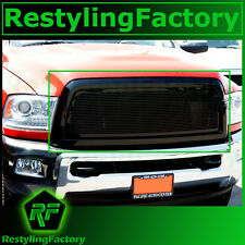 13-15 RAM Truck 2500+3500+HD Black Billet Grille+Complete Replacement+Shell 2015